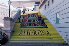 Schody pred Albertinou.