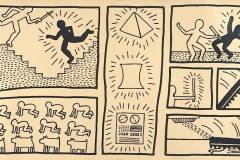 Keith Haring, 1980, ©  Keith Haring Foundation