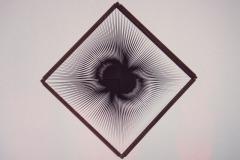 Výstava optického klamu v mumok-u.