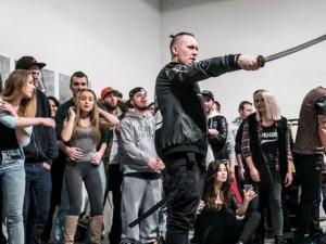 Supa – natáčanie klipu Spit mode v Cvernovke