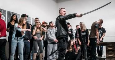 Supa - natáčanie klipu Spit mode v Cvernovke