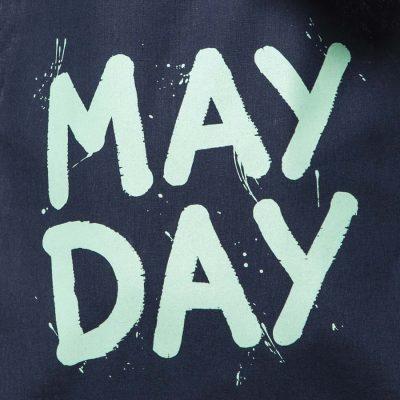Tmavo modra platena taska May Day Cvernovka