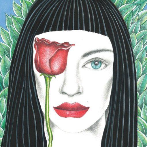 Roses are red - K. Branišová - Abstraktné stavy / grafika