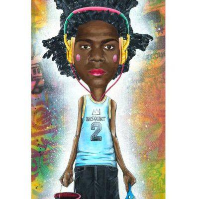 Basquiat - Parxant / grafika