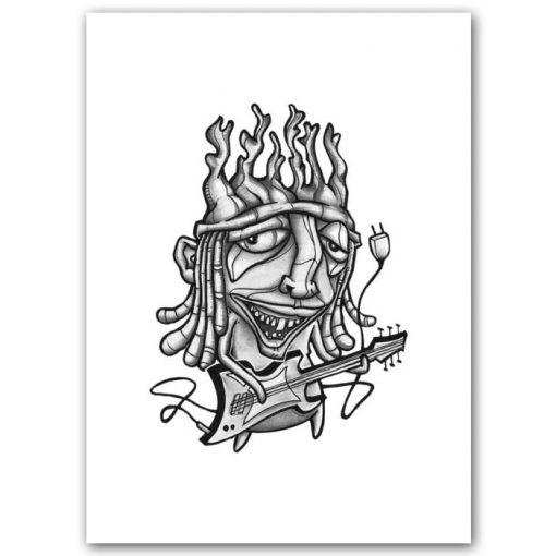 Ozzy - Parxant – Abstraktné stavy / grafika