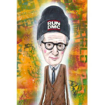 Woody Allen - Parxant – Abstraktné stavy / grafika