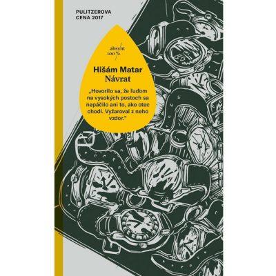 Návrat - Hišám Matar / kniha