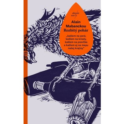 Rozbitý pohár - Alain Mabanckou / kniha