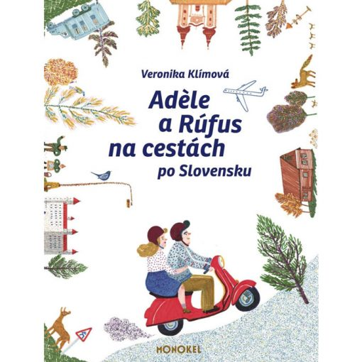 Adele a Rúfus na cestách po Slovensku - V. Klímová / kniha