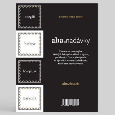 AHA Nadávky / pexeso