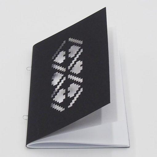 Výšivka biela - AHA Slovakia / zápisník