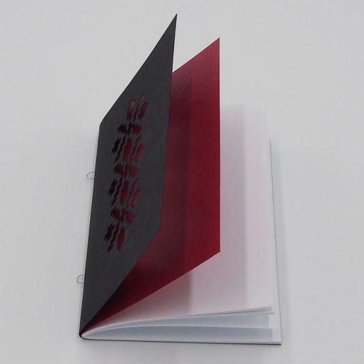 Výšivka červená - AHA Slovakia / zápisník