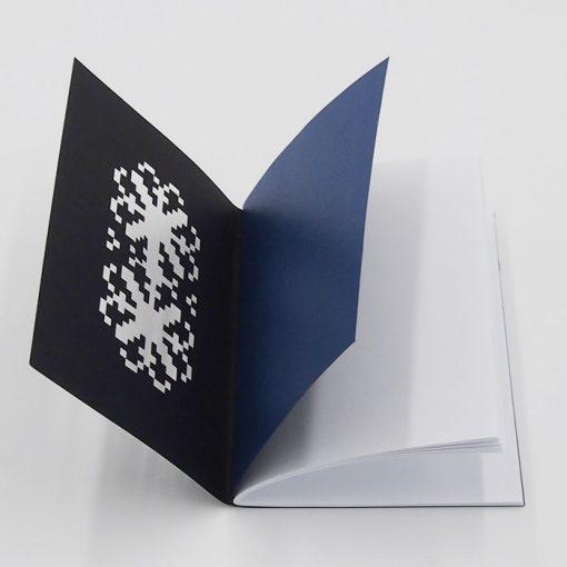 Výšivka modrá - AHA Slovakia / zápisník