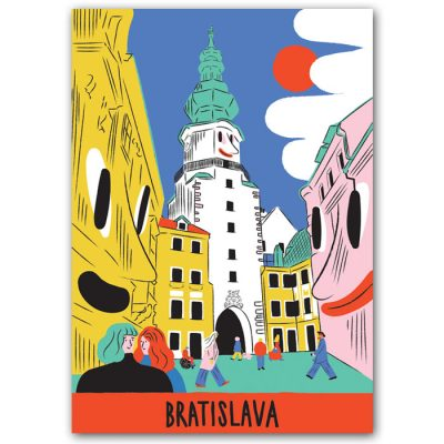 Michalská brána - Barbora Idesová / pohľadnica