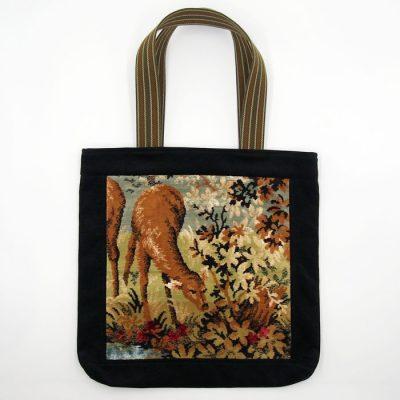 Veľká taška s výšivkou - Srnka malá / Bartinki