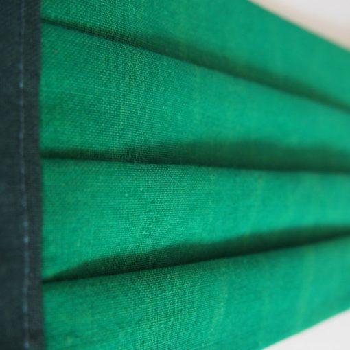 Listovo zelené bavlnené rúško na tvár