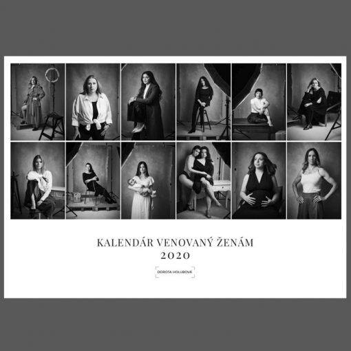 Charitatívny kalendár venovaný ženám 2020