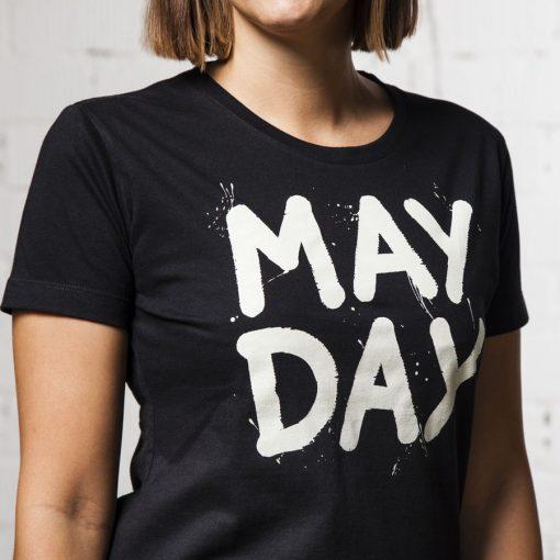cierne damske tricko May Day Cvernovka