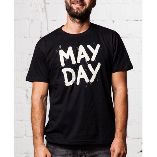 cierne tricko May Day Cvernovka