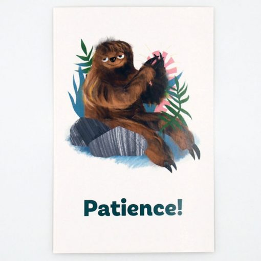 Patience! - Grip. Had, ktorý chcel mať nohy / pohľadnica
