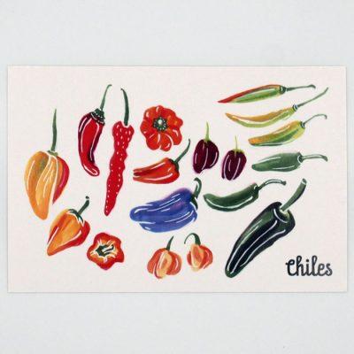 Chiles - Mexico / pohľadnica