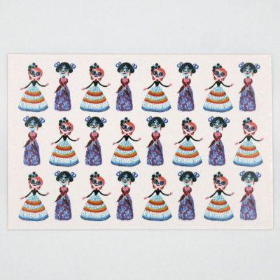 Bábiky - Mexico / pohľadnica