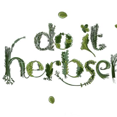 Do it Herbself - Emília Jesenská / grafika