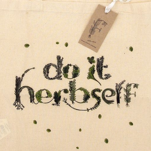 Do it Herbself - Emília Jesenská / plátená taška