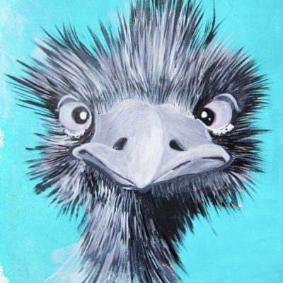 My name is EMU-ly - Emília Jesenská / grafika