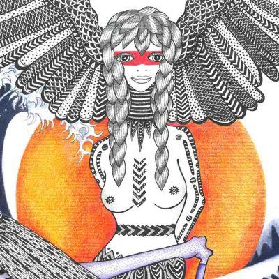 from the liberty tribe katarina branisova illustrations grafika