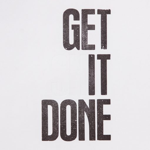 get it done A4 print