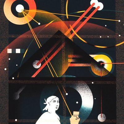 Polnoc - Han, A4 / grafika