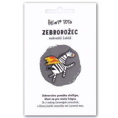 Zebrorožec - Hento Toto / brošňa