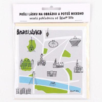Bratislava dominanty - Hento Toto / darčeková karta