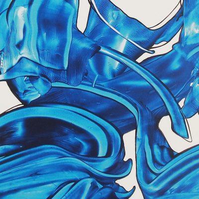 Greenblau Experimental II. - Hula / grafika