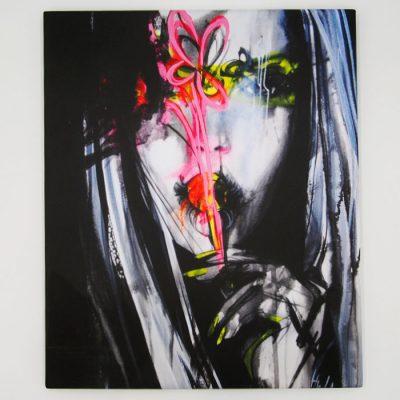 Ugly Portrait II - Hula / print na plátne