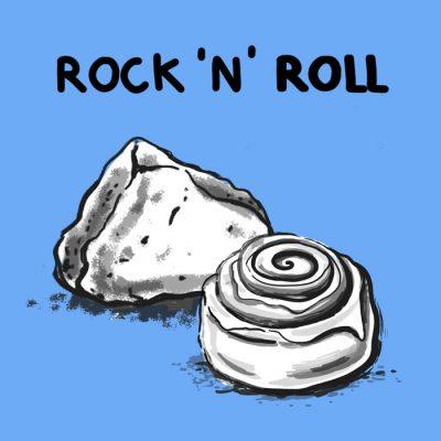 Rock ´n´ Roll - K. Koronthályová / grafika