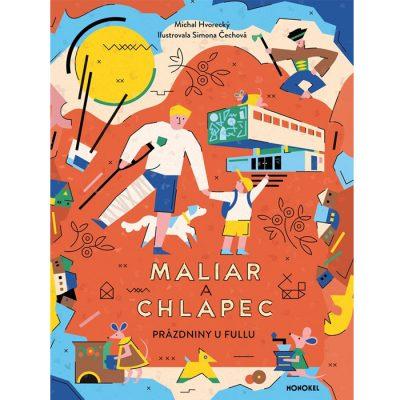 Maliar a chlapec - M. Hvorecký / kniha