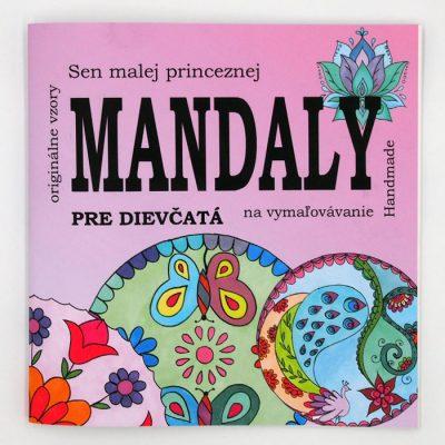 Mandaly na vymaľovávanie pre dievčatá / omaľovánka