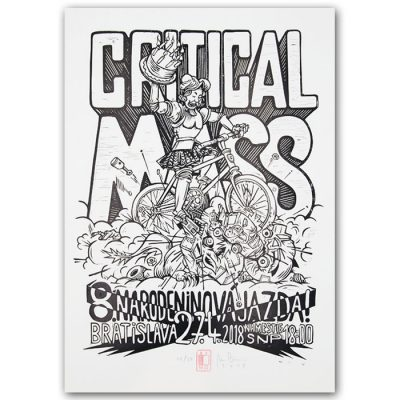 Critical Mass ´18 - Marek Cina / grafika