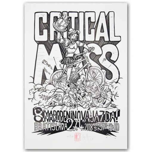 Critical Mass ´18 - Marek Cina / grafika