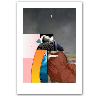 A Busting Walk - Miloš Hronec / grafika