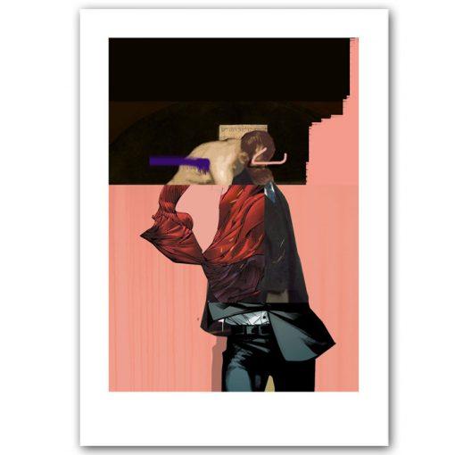 Money, faith, money - Miloš Hronec / grafika