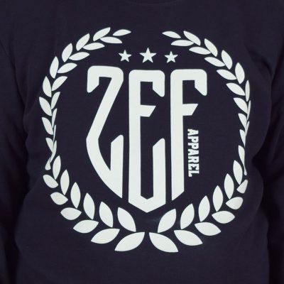 modra mikina vavriny zef apparel