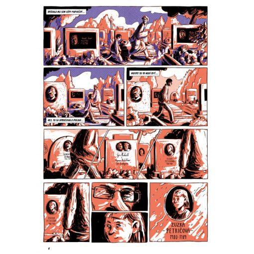 Unesení - Nežný komiks #4 / komix kniha