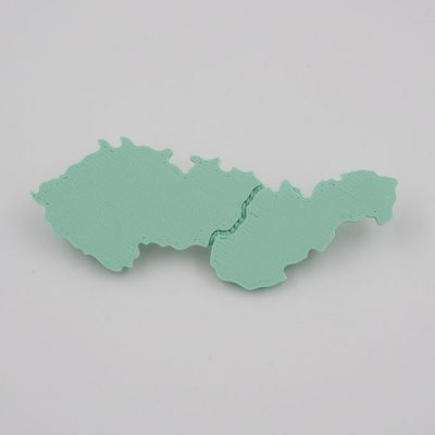 Czechoslovakia mentol - Nikoleta Design / brošňa