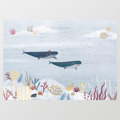 V oceáne - plagátik / obrázok A4