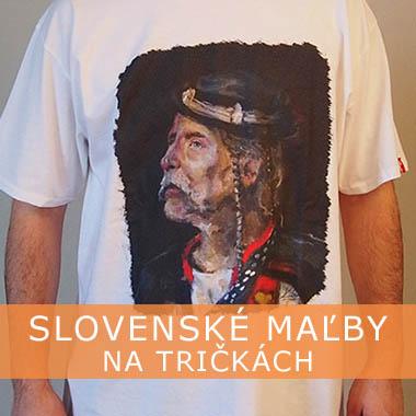 Slovenské maľby na tričkách