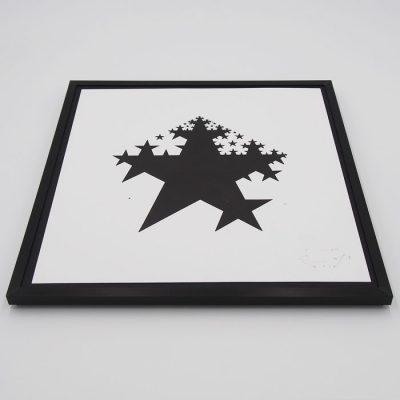 Hviezda - Emil Drličiak, 32 x 32 cm - Pressink / grafika