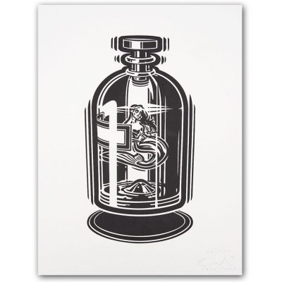 Panna v terpentíne - Emil Drličiak, A2 - Pressink / grafika